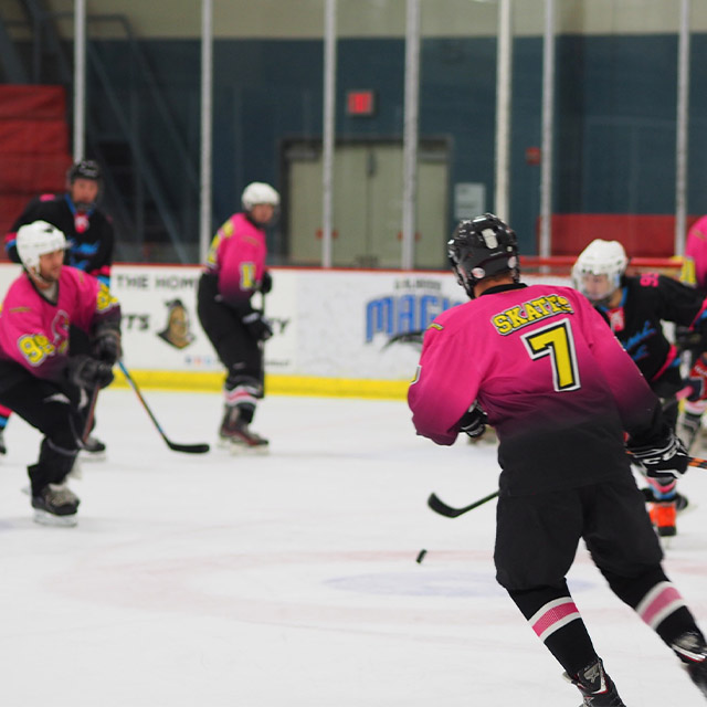 Flamingos in championship game - MacCord